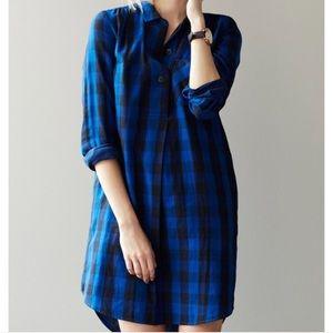 Madewell Jane Plaid Shirtdress